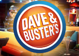 Dave and Busters - Orange