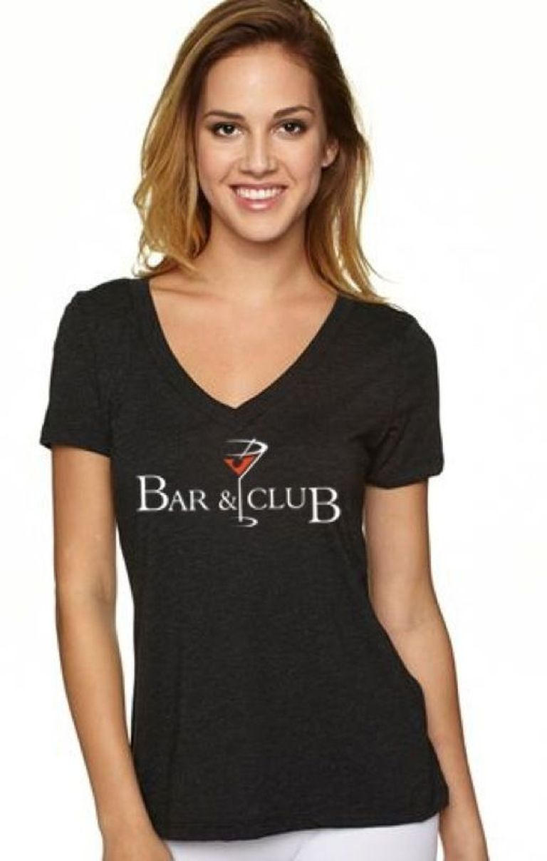 Bar And Club Ladies V Neck