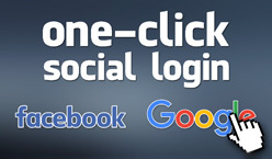 One-Click Social Login