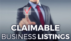 Claimable Business Listings