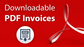 Downloadable PDF Invoices