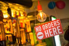 "Annoying Things People Do To Piss Off Bartenders - Staying In The Area That Is Marked ""No Orders Here"""