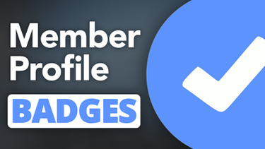 Member Profile Badges