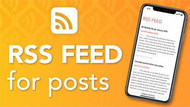 RSS Feed for Posts